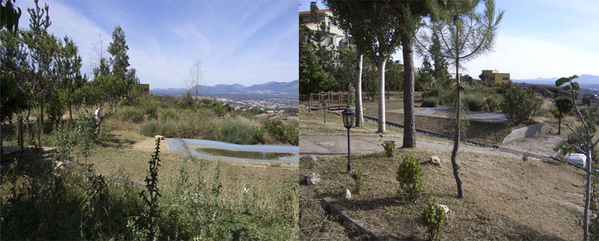 Desbroces Madrid. Desbroce de terrenos y parcelas Madrid