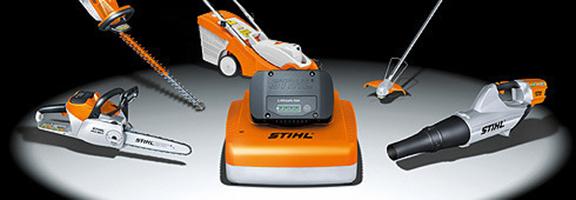Maquinaria a batería Stihl